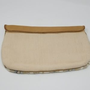 Picard Bags - Picard Leather & Fabric Clutch